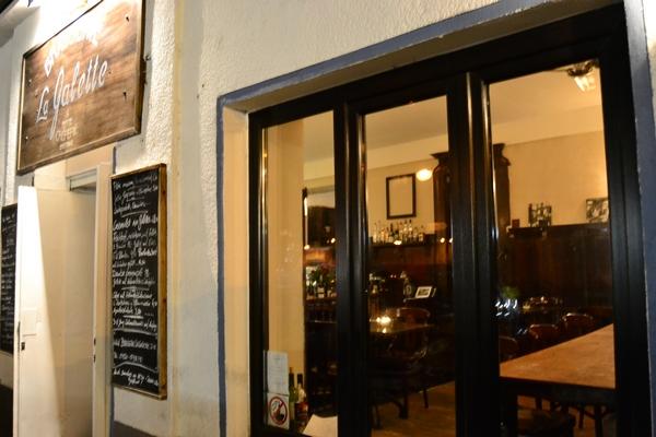 Bild 1 der Brasserie La Galette: Der Eingang