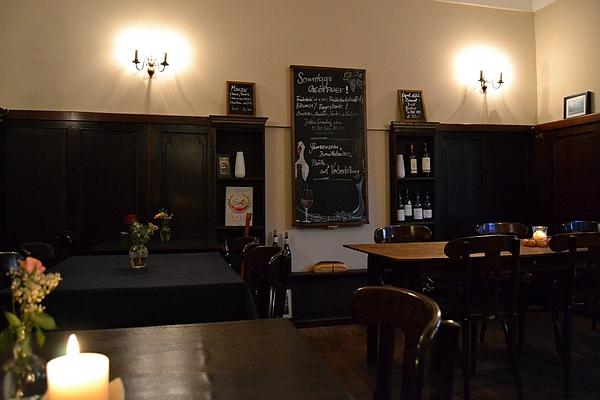 Bild 2 der Brasserie La Galette: Der Gastraum