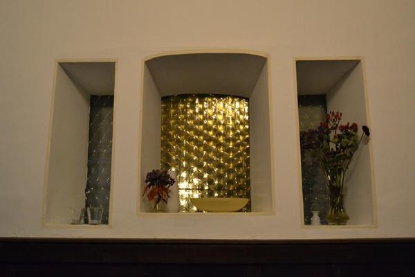 Bild 5 der Brasserie La Galette: Zapfanlage und unterer Gastraum